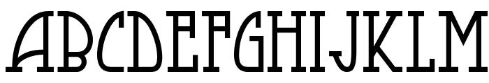 Smorgasbord NF Font UPPERCASE