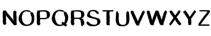 SmudgeStick Font UPPERCASE