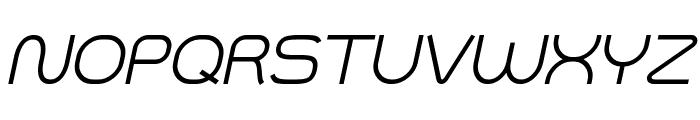 Smush Italic Font UPPERCASE