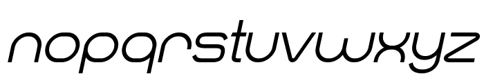 Smush Italic Font LOWERCASE