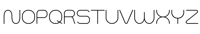 Smush Light Font UPPERCASE