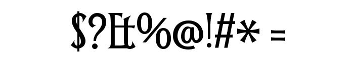 Smythe Font OTHER CHARS