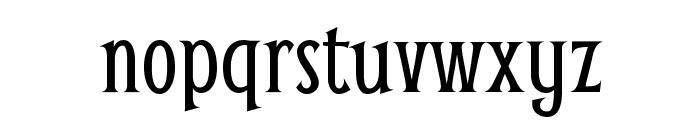 Smythe Font LOWERCASE
