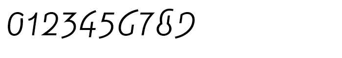 Smena Light Font OTHER CHARS