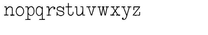 Smith Premier NF Schmutzy Font LOWERCASE