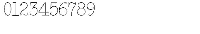 Smith Premier Typewriter Outline Regular Font OTHER CHARS