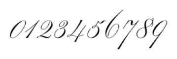 Smith Spencerian Sixteen Font OTHER CHARS