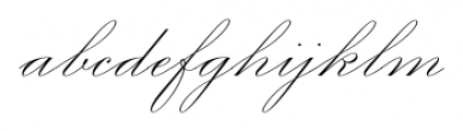 Smith Spencerian Sixteen Font LOWERCASE