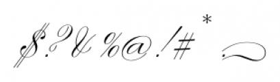 Smith Spencerian Twenty Two Font OTHER CHARS