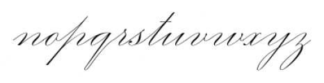 Smith Spencerian Twenty Two Font LOWERCASE
