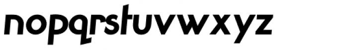 Smallstep Pro Bold Italic Font LOWERCASE