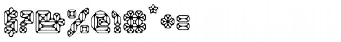 Smaragdina Ten Font OTHER CHARS