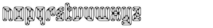 Smaragdina Ten Font LOWERCASE