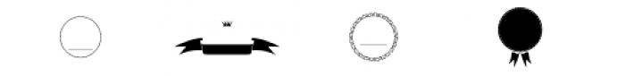 Smart Labels Frames Font UPPERCASE