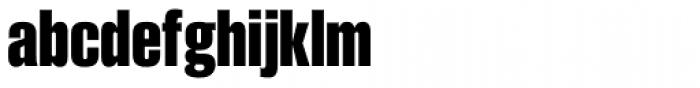 Smart Sans Pro Bold Font LOWERCASE