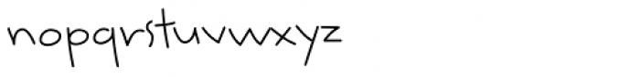 Smarty Pants BTN Light Font LOWERCASE