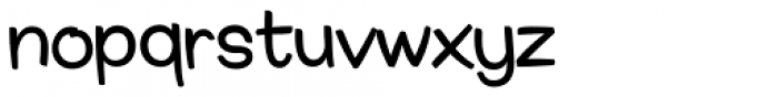 Smiley Font LOWERCASE