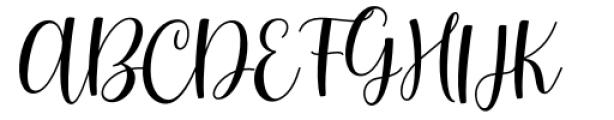 Smith Catrine Regular Font UPPERCASE