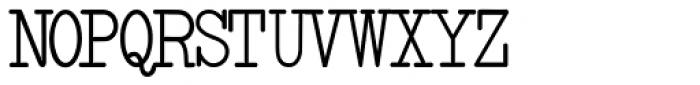 Smith-Premier Typewriter Bold Font UPPERCASE