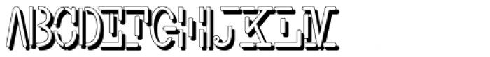 Smith-Typewriter Shadow Free Font UPPERCASE