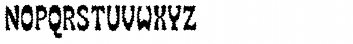 SmokeHaus Rough Font LOWERCASE