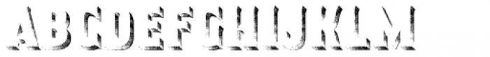 Smoking Typeface Shadow Font LOWERCASE