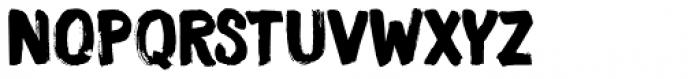 Smooth Brushings Regular Font UPPERCASE