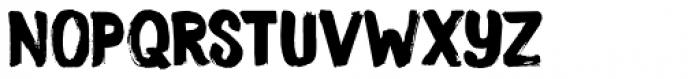 Smooth Brushings Regular Font LOWERCASE