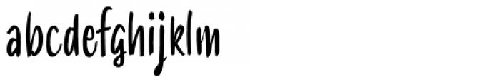SmoothyPro Pro Light Font LOWERCASE