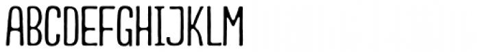 Smyrna Light Font UPPERCASE