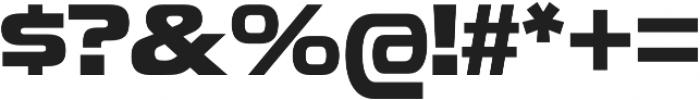 Snasm Bold otf (700) Font OTHER CHARS