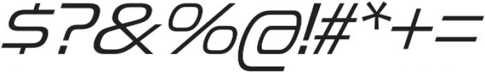 Snasm Light Italic otf (300) Font OTHER CHARS