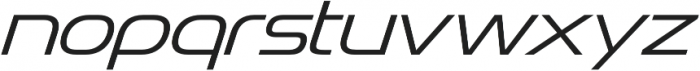 Snasm Light Italic otf (300) Font LOWERCASE