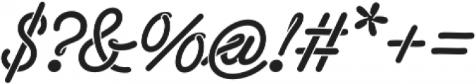 Sneaker Script otf (400) Font OTHER CHARS