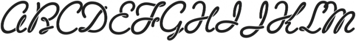 Sneaker Script otf (400) Font UPPERCASE