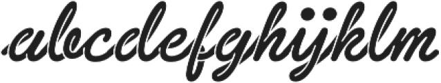 Sneaker Script otf (400) Font LOWERCASE