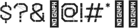 Snitch Stitch otf (400) Font OTHER CHARS