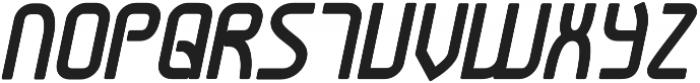 Snoofer Bold Italic otf (700) Font UPPERCASE