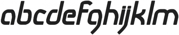 Snoofer Bold Italic otf (700) Font LOWERCASE