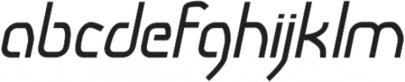 Snoofer Italic ttf (400) Font LOWERCASE