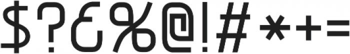 Snoofer Regular otf (400) Font OTHER CHARS
