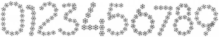 Snowflakes Regular otf (400) Font OTHER CHARS