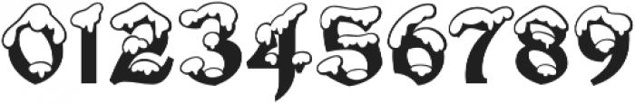 Snowgoose Regular otf (400) Font OTHER CHARS