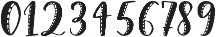 Snuggle Stitched otf (400) Font OTHER CHARS