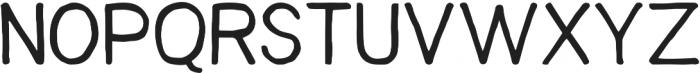 snacker ttf (500) Font UPPERCASE