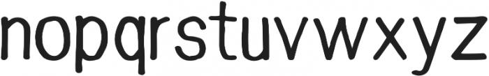 snacker ttf (500) Font LOWERCASE