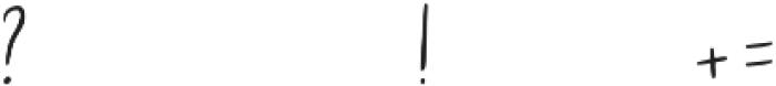 snallie soul otf (400) Font OTHER CHARS
