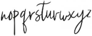 snallie soul otf (400) Font LOWERCASE