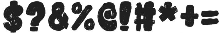 snowky brush otf (400) Font OTHER CHARS