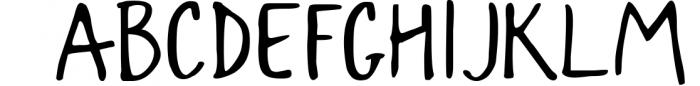 Snowy Christmas script font & logos Font UPPERCASE